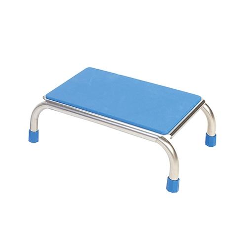 アズワン 浴室用ガッチリ踏み台 約430×290×150mm ブルー FIC-005B 1個 [0-7312-11]