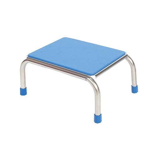 アズワン 浴室用ガッチリ踏み台 約430×290×200mm ブルー FIC-004B 1個 [0-7312-13]