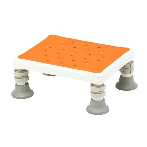 アズワン 浴槽台(軽量タイプ ユクリア) コンパクト1220 オレンジ 1個 [0-9118-21]