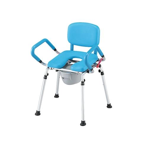 アズワン 便器椅子 (立ち上がり補助) 本体 HT5086L 1台 [7-4442-01]