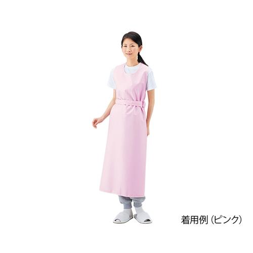 アズワン 入浴介護用エプロン (ひもタイプ) ピンク/LL 403306 LL 1枚 [8-1589-03]