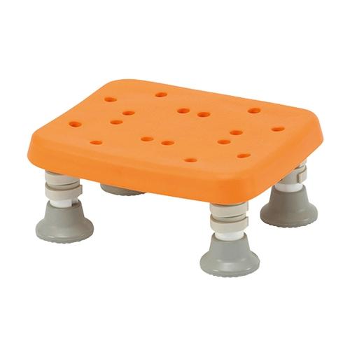 アズワン 浴槽台(ソフトタイプ ユクリア) ソフトコンパクト1220 オレンジ 1台 [8-4175-12]