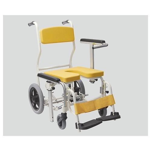 アズワン 入浴椅子 イエロー KS12 1個 [8-6371-02]