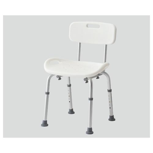 アズワン シャワー椅子 背付き 5045w 1個 [8-6824-02]