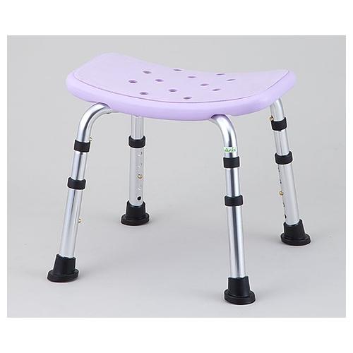 アズワン シャワー椅子 (背無し) HS4214 1脚 [8-7234-01]