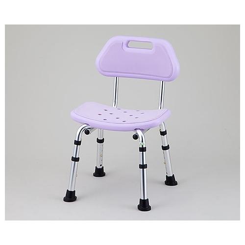 アズワン シャワー椅子 (背付き) HS4215 1脚 [8-7234-02]