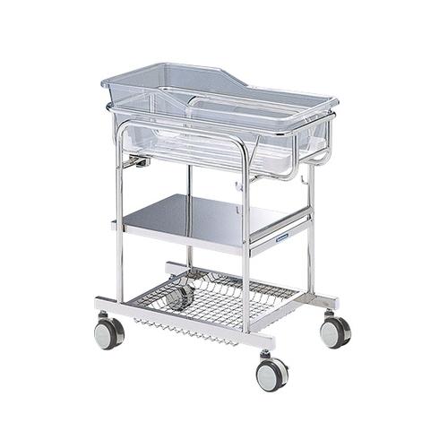 アズワン 新生児ベッド ステンレス製 BB-600S 1台 [0-3561-01] [個人宅配送不可]