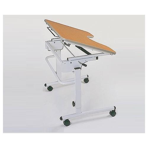 アズワン ライフケアテーブル (車いす用) (870×630×650~800mm) TY506T 1台 [0-3924-02]