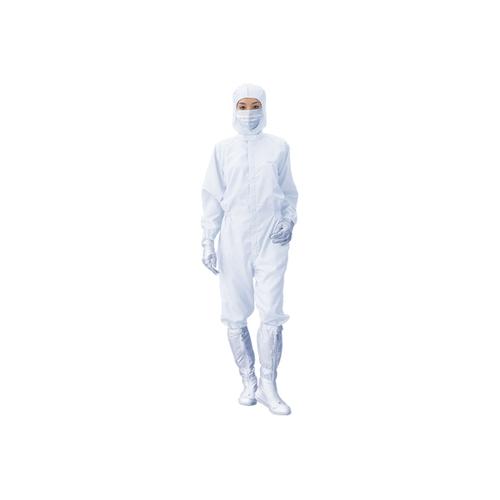 アズワン 無塵衣・AS199C(男女兼用・クリーン洗浄済) ホワイト LL 1枚 [3-435-03]