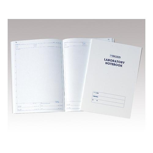 アズワン クリーンルーム用ペーパー ラボラトリーノート 1箱(50枚×10冊入り) [1-2466-03]