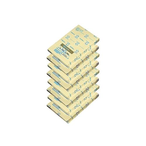 アズワン クリーンルーム用無塵紙A5 スタクリン 1ケース(500枚/冊×8冊入) イエロー 1ケース(500枚×8冊入り) [3-8295-03]