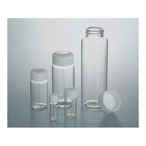 アズワン SCCスクリュー管瓶白 50ml(純水洗浄処理済み) 1箱(10本×5袋入り) [7-2110-09]