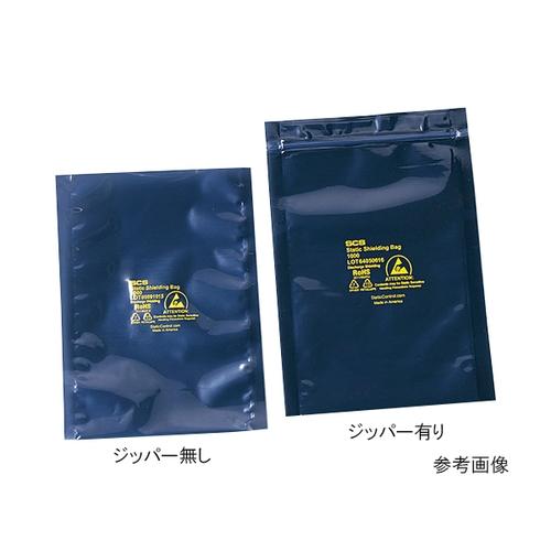 アズワン ESDシールドバッグ(4層タイプ) ジッパー付き 450×600×0.076 1箱(100枚入り) [3-6921-14]