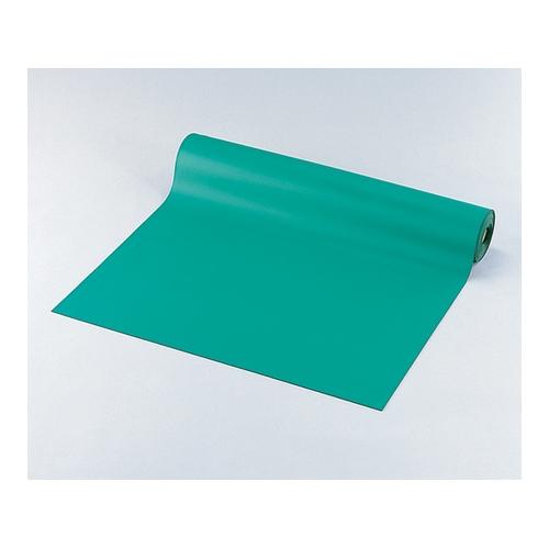 アズワン 静電マット(ロールタイプ) 1m×10m×2mm グリーン 1巻 [9-5710-01]