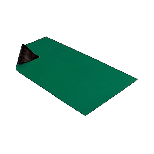 アズワン 導電性カラーマット(グリーン) NBR 補強繊維無し 1枚 [61-0482-35]