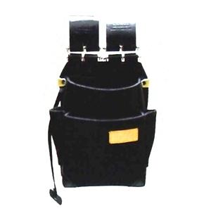 ニックス KB-211NS-DXチェーン式特殊ナイロン製自在型腰袋(黒)