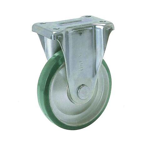 ヨドノ UWK-300 プレス製固定金具付車輪(ウレタン)