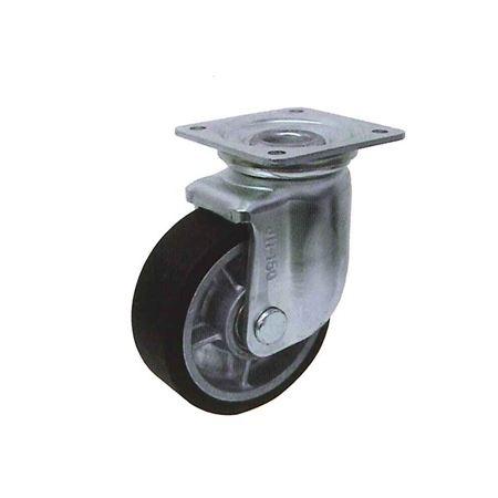 ヨドノ RRJM-200 プレス製自在金具付重荷重用車輪(MCナイロン)