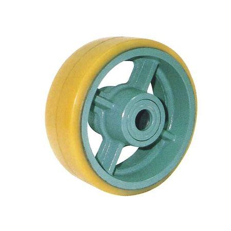 ヨドノ UHB200-75 重荷重用イモノウレタン車輪