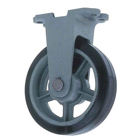 ヨドノ HBK250-75 重荷重用鋳物製固定金具付ゴム車輪