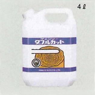 ヤナセ製油 チェンソーダブルカットオイル(4L) 販売入数:6本入り