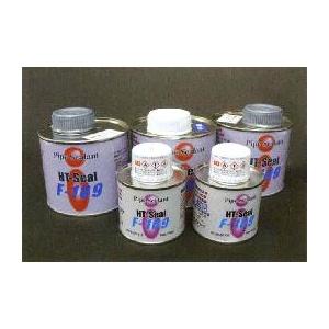 ヘルメチック F-109R(赤茶色)シール剤 500g 販売入数:12缶