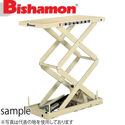 ビシャモン(スギヤス) 電動ネジ駆動式リフト バリオスクリュー2段式 2XS010508-B 最大積載能力:100kg [配送制限商品]