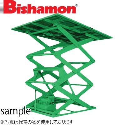 ビシャモン(スギヤス) 油圧駆動式テーブルリフト AX 3段式 3AX100ES-B 最大積載能力:1000kg [配送制限商品]大型商品に付き納期・送料別途お見積り