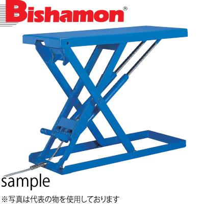 ビシャモン(スギヤス) 油圧駆動式テーブルリフト スーパーローリフト 三相200V LX100W-B 最大積載能力:1000kg [配送制限商品]
