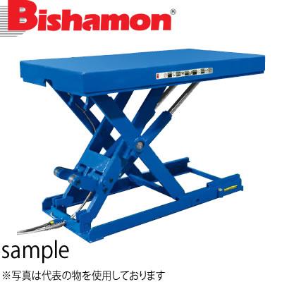 ビシャモン(スギヤス) 油圧駆動式テーブルリフト スーパーローリフト 三相200V LX300WL-B 最大積載能力:3000kg [配送制限商品]大型商品に付き納期・送料別途お見積り