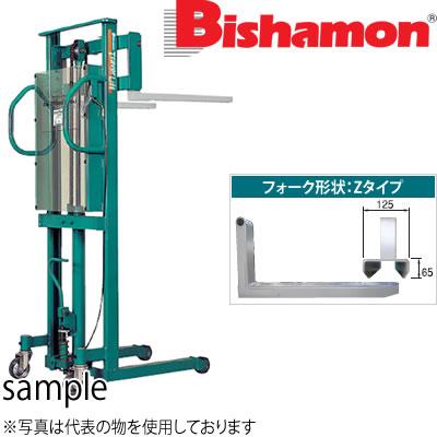 ビシャモン(スギヤス) 手動油圧式トラバーリフト (早送り装置付) ST80H 最大積載能力:800kg [配送制限商品]