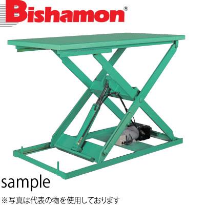 ビシャモン(スギヤス) 油圧駆動式テーブルリフト ミニX 単相100V X050615B-B 最大積載能力:500kg [配送制限商品]