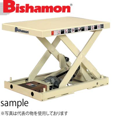 ビシャモン(スギヤス) 電動ネジ駆動式リフト バリオスクリュー1段式 XS010512-B 最大積載能力:100kg [配送制限商品]