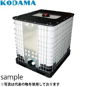 コダマ樹脂工業 IBC-1000B 充填口150mm パワートート [配送制限商品]