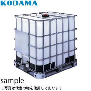 コダマ樹脂工業 IBC-1000D 充填口150mm パワートートP [配送制限商品]