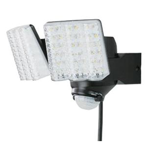 際立つ明るさ 再再販 照らす方向自由自在 DAISHIN 大進 LEDセンサーライト 2灯式 在庫有り 直営ストア 明るさ2000ルーメン DLA-7T200