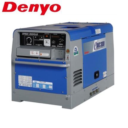 デンヨー 防低騒音型ディーゼルエンジン溶接機 DAW-300LS