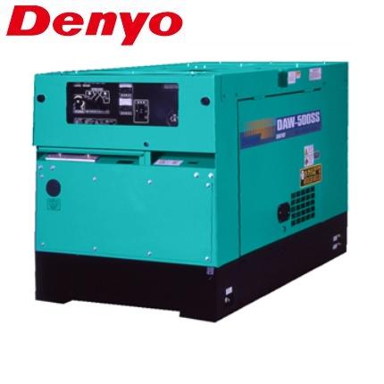 デンヨー 防低騒音型ディーゼルエンジン溶接機 DAW-500SS [個人宅配送不可]