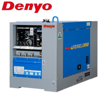 価格未定品 デンヨー 軽油エンジン炭酸ガス溶接機 DCW-350LS