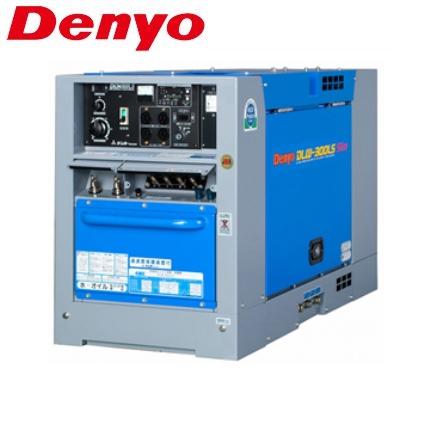 価格未定品 デンヨー 超低騒音型ディーゼルエンジン溶接機 DLW-300LS