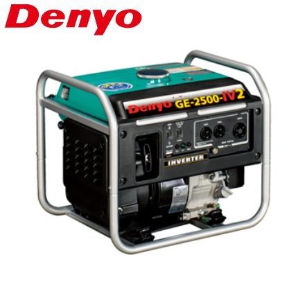 デンヨー 小型ガソリンエンジン発電機 GE-2500-IV2 インバーター発電機 2.5kVA 単相100V