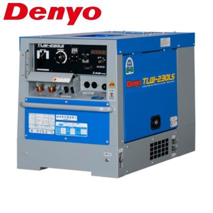 デンヨー 防低騒音型ディーゼルエンジン溶接機 TLW-230LS