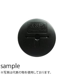グリーンフィールド 防草ワッシャー ブラック (600入)/袋 Φ80mm×H12.5mm×t2mm WS-BL600 [配送制限商品]
