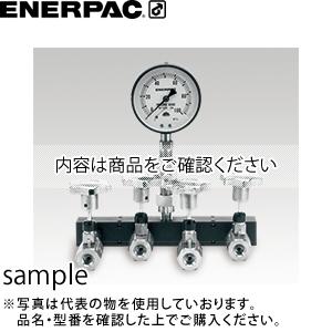ENERPAC(エナパック) シャットオフ弁付4方ブランチ (圧力計付) BV-4N