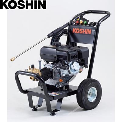工進 エンジン式高圧洗浄機 キャリー付 JCE-1408UDX