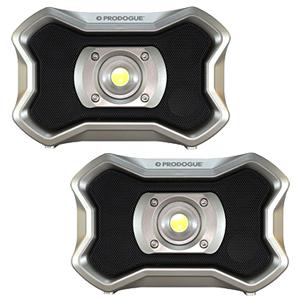 PRODOGUE Bluetoothスピーカー付 LEDワークライト PD-BSL20 2台セット【在庫有り】【あす楽】