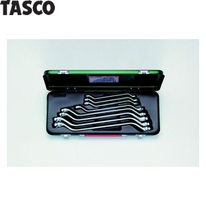 TASCO(タスコ) メガネレンチセット(45°)(8本組) TA734WX