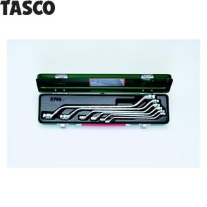 TASCO(タスコ) メガネレンチセット(45°タイプ)(6本組) TA734XN