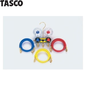 TASCO(タスコ) サイトグラス付ゲージマニホールドキット TA120A-1