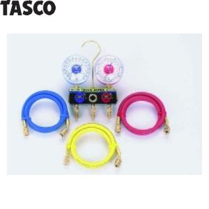 TASCO(タスコ) サイトグラス付ゲージマニホールドキット TA120AH-1